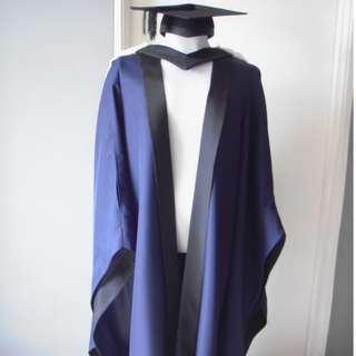 RENT Graduation Robe, Trinity College B.A (Cambridge)