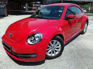 2013 volkswagen beetle 1.2 (a) turbo