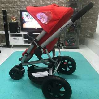 Quinny Buzz Stroller red revolution