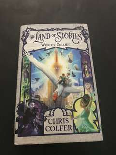 🚚 Worlds Collide [Land of Stories] by Chris Colfer