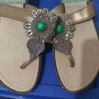 Mosaic Sandals size 7 worn once