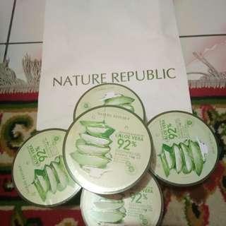 Nature Republic aloevera gel 92%