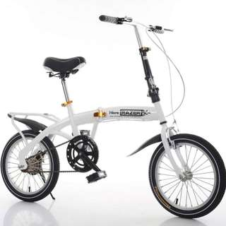Brand new Foldable Bicycle with Disk brakes etc