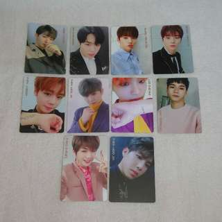 Wanna One I Promise You IPU Photocard Official