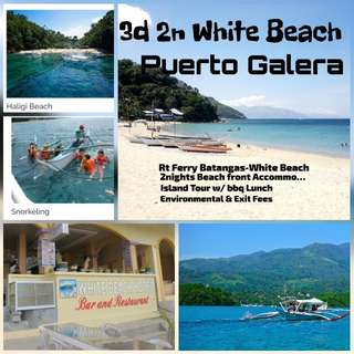 3d2n PUERTO GALERA PEAK SEASON PACKAGE FOR JOINERS