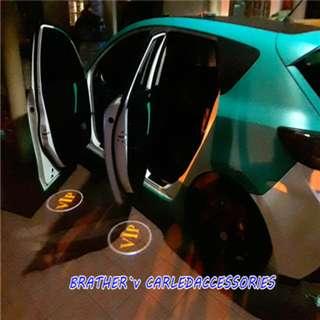 (5) Car Door Logo Welcome Light