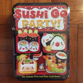 Sushi Go Party! board game (NOT FAKE, dented)