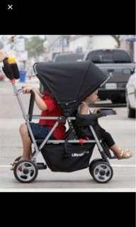 Joovy tandem double stroller