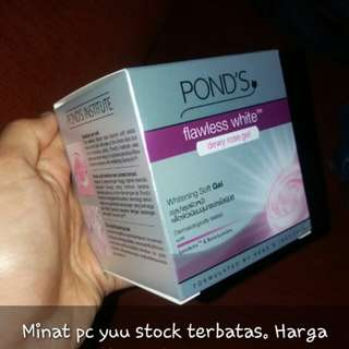 Ponds flawless white-whitening cream-whitening soft gel