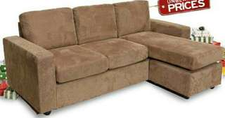 LORRA SOFA CORNER Light Brown