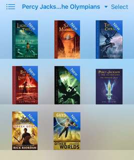 Percy Jackson & The Olympiad [epub]