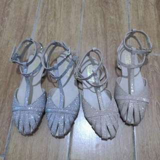 Glitter Sandals with Strap Size: 6-9