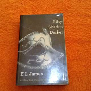 Fifty Shades Darker Book(Selling for a Friend)