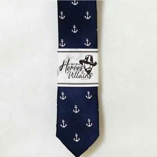 Nautical Blue Necktie