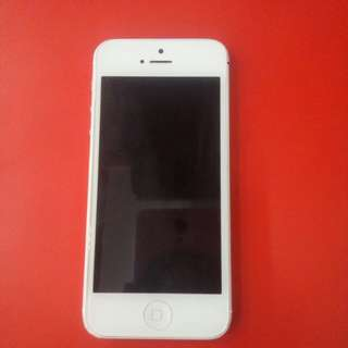 Iphone 5 16GB putih