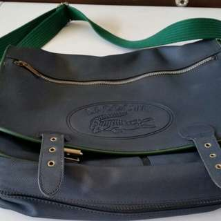 Original LACOSTE Messenger Bag