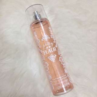 Bath and Body Work Body Mist Peach