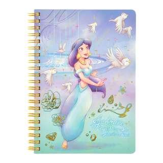 Japan Disneystore Disney Store Jasmine Water Color Ring Note