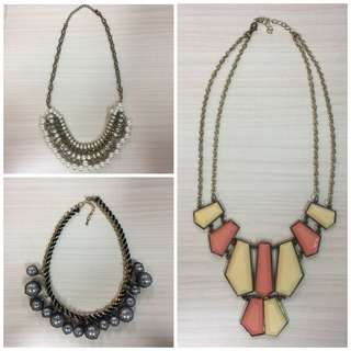 Kalung / Necklaces Take All 50rb
