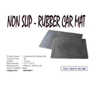 Universal Car Rubber Mat, Non Slip Car Mat