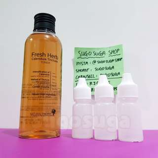 NATURAL PACIFIC Fresh Herb Calendula Tintcure Toner (share 15/60ml)