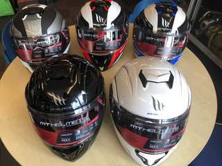 Flip up Fullface Helmet MT
