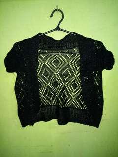 Crochet blazer