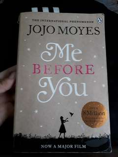 ME BEFORE YOU BOOK BY JOJO MOTES