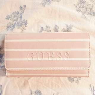 FREE SF! [AUTH] GUESS wallet in Blush Pink
