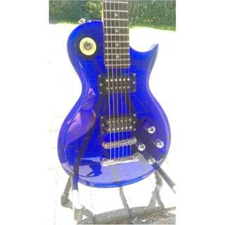 Wesley Acrylic  Electric Guitar Les Paul