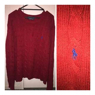 Ralph Lauren Knit Jumper 🔥