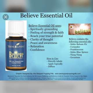 Young living believe essential oil 15ml