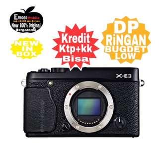 Kredit Low DP Fujifilm X-E3 Body Only Resmi Promo DItoko ktp+kk bisa wa;081905288895