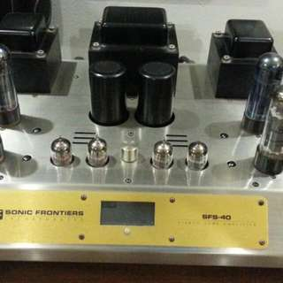 Sonic frontiers sfs-40 power Amp