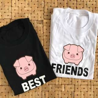 BFF GRAPHIC TEES (PIG DESIGN)