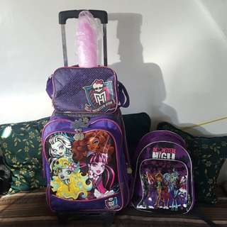 Monster High School Bags