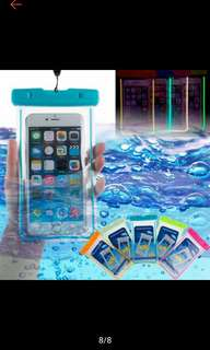Waterproof pouch for smart phone