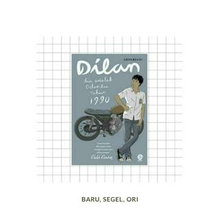 Buku Novel Dilan 1990 - Pidi Baiq