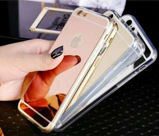 Glass jelly case for iPhone