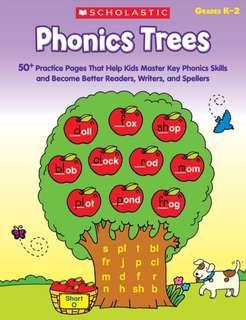 Scholastic Phonics Trees Grade K-2 (PDF)