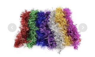Party decorative tinsels