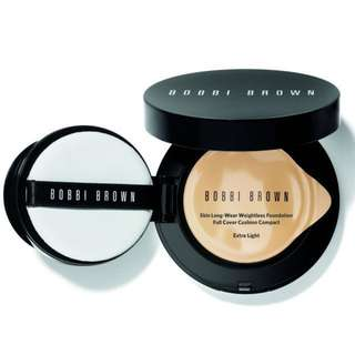 Bobbi Brown skin long-wear weightless cushion 自然輕透膠囊氣墊粉底-無瑕版