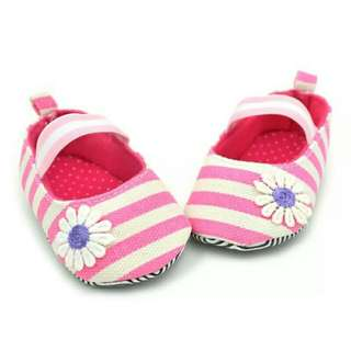 🍼 Event | Baby Shoes Sepatu Bayi Stripes Pink