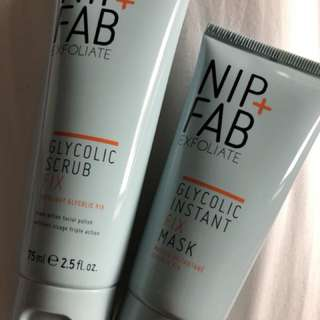 Nip and fab glycolic scrub and mask