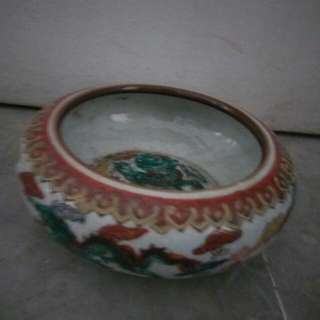 Antique Bowl and porcelain containet