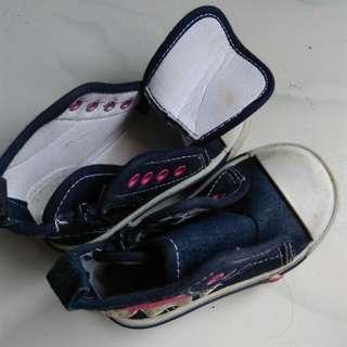 Disney's baby's shoes