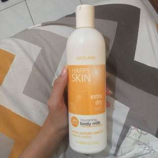 oriflame happy skin body lotion