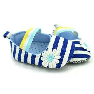 🍼 Event | Baby Shoes Sepatu Bayi Stripes Blue