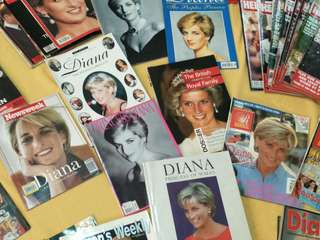 42 book/magazines of Princess Diana Exclusive Collection