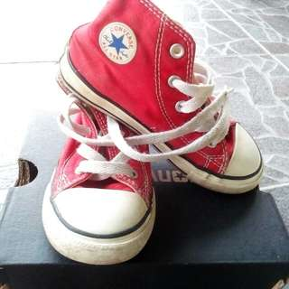 Converse high cut (red) 9UK